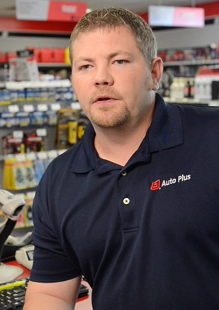 Kevin Hisky, Auto Plus Store Manager